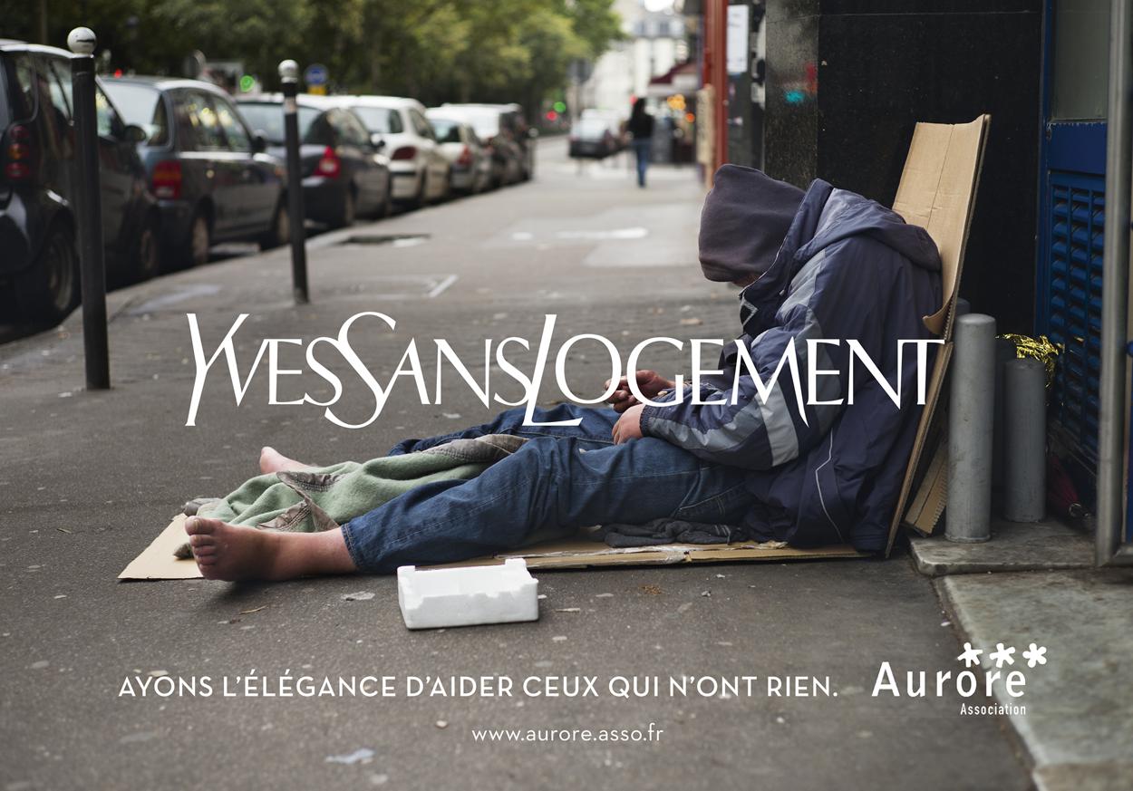 Aurore - Sans domicile fixes : Aurore lance une campagne de